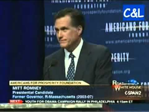 Mitt Romney Promises to Raise Retirement Age, Privatize Medicare and Slash Government Jobs