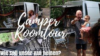 CAMPER ROOMTOUR • Wie soll unser Van heißen? • Weltreise mit Baby • GoodMorningFlorence