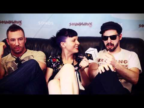 Soundwave TV: Dillinger Escape Plan Interview 2012