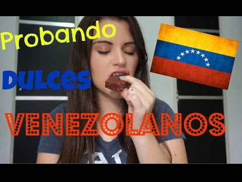 Probando dulces Venezolanos - Claudia Carnevali