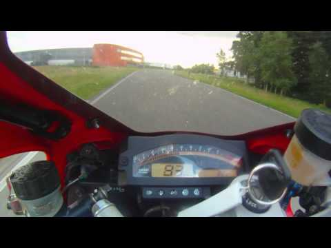 Onboard Honda VTR 1000 SP1 (RC51) awesome 2 cylinder superpole exhaust sound HD