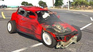 GTA 5 Crash Testing Real Car Mods