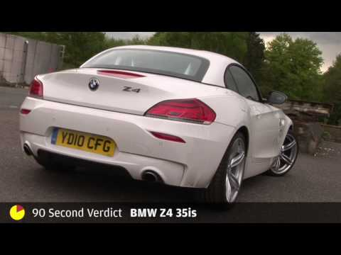 BMW Z4 35is - 90sec review by autocar.co.uk Video