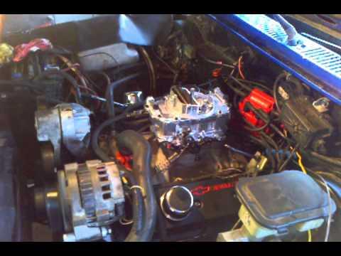 S10 vortec 350 with LT4 hot cam