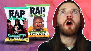 Irish People Try American Rap Snacks