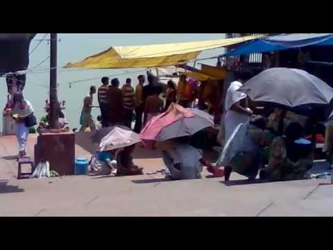 KOLKATA MOST FAMOUS GANGA GHAT VIDEO