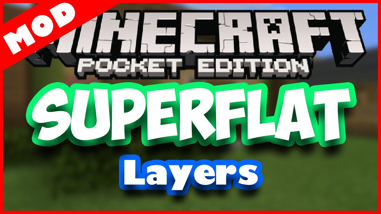 Minecraft World Layers Superflat World Layers