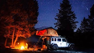 FAMILY WINTER JEEP CAMPING - British Columbia, Canada /// EFRT EP 87