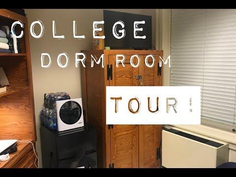 College Dorm Room Tour 2017 !!!