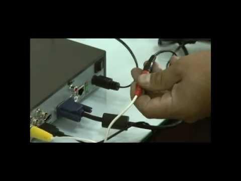 Instalacion de un Sistema de Videovigilancia CCTV con DVR HIKVISION - 1