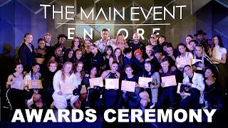 Encore at The Main Event NYC 2018 | Awards Ceremony
