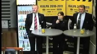 30.9.2010 KalPa-HIFK lehdistötilaisuus