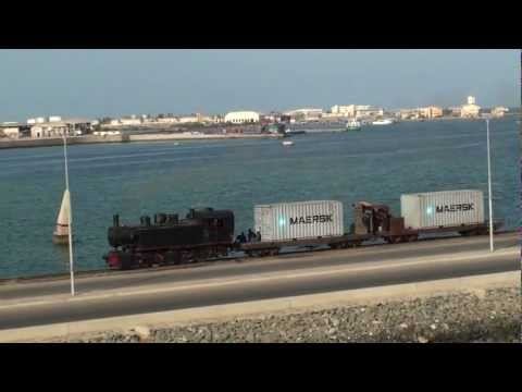 Eritrea - First Freight for 38 years, Massawa Harbour