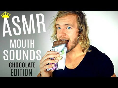 ASMR Mouth Sound Triggering ★ Chocolate Edition