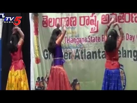 GTA Telangana Formation Day Celebrations in Atlanta, USA | TV5 News