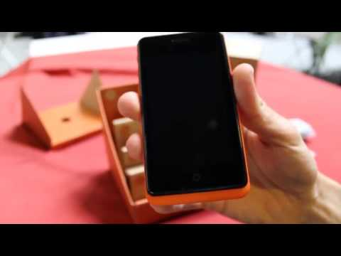 smartphone con Firefox OS Keon
