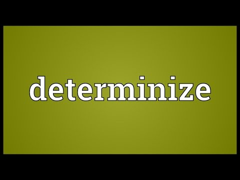 Header of Determinize