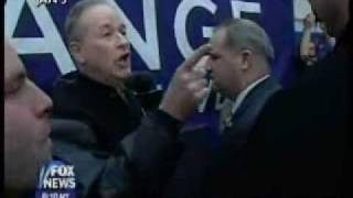 Bill O'Reilly tries to pick a fist fight