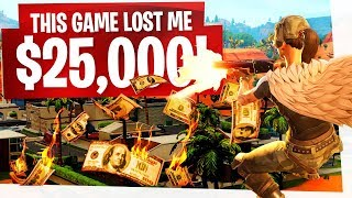 THIS GAME will HAUNT me for awhile... it LOST me $25,000! - Fortnite Summer Skirmish Week 2