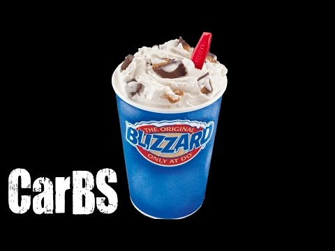 CarBS - Dairy Queen Reese's Peanut Butter Cup Blizzard