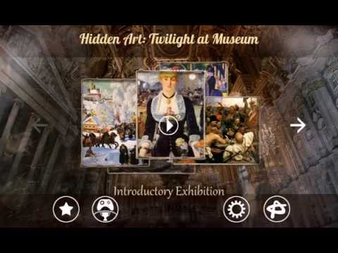 Twilight Art Games Hidden Art Twilight in Museum