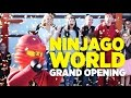 LEGO NINJAGO World grand opening ceremony at LEGOLAND Florida