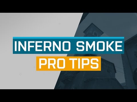 CS:GO - ProTips: Inferno - T Side Arch Smoke