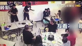 Hai băng nhóm Trung Quốc đánh nhau khi đang ngồi nhậu