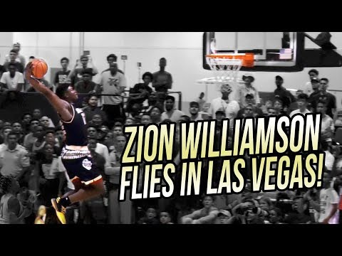 Zion Williamson JAM & JELLY in Vegas! Adidas Summer FINALE FULL HIGHLIGHTS