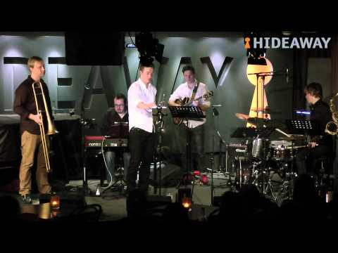 Barnaby's London Horns perform at Hideaway in Streatham, London's award-winning jazz club