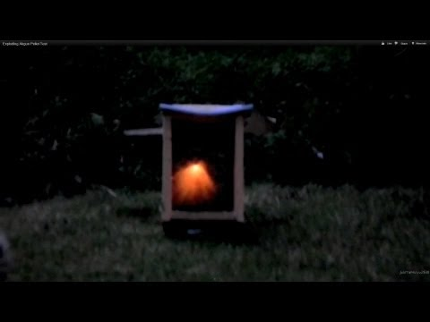 Exploding Airgun Pellet Test