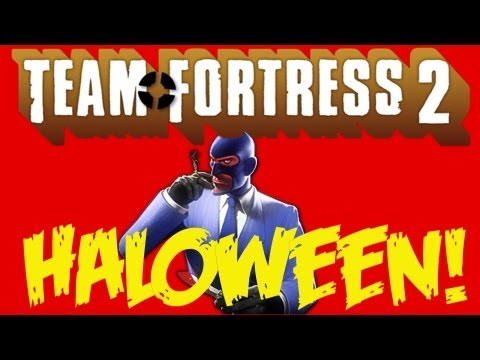 OMG HALLOWEEN! (Team Fortress 2 #01!!)