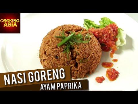 Nasi Goreng Ayam Paprika At April 24 Cafe | Cooking Asia