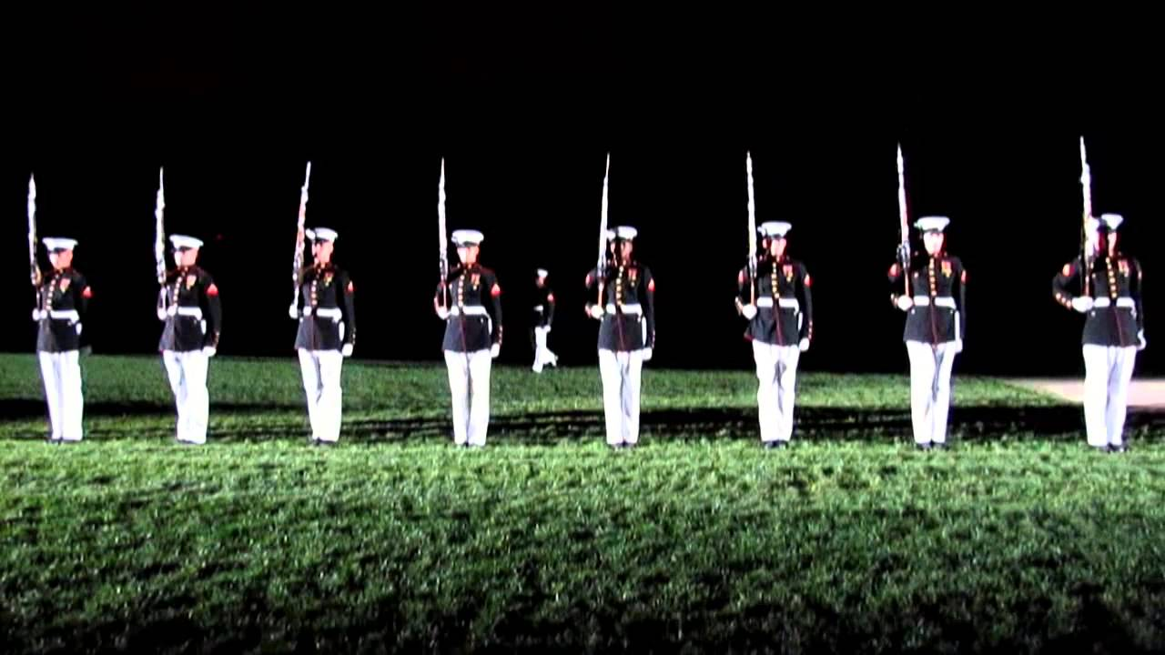 United States Marine Corps Silent Drill Platoon ...