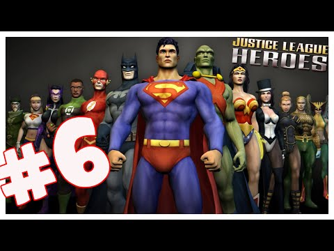 Justice League Heroes (ps2) Part 6 Mushrooms Are Evil (hd) video