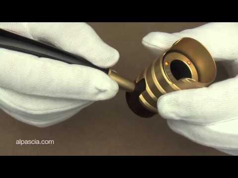 pipa Tsuge Metal Tankard Thunderstorm Gold - pipe 308