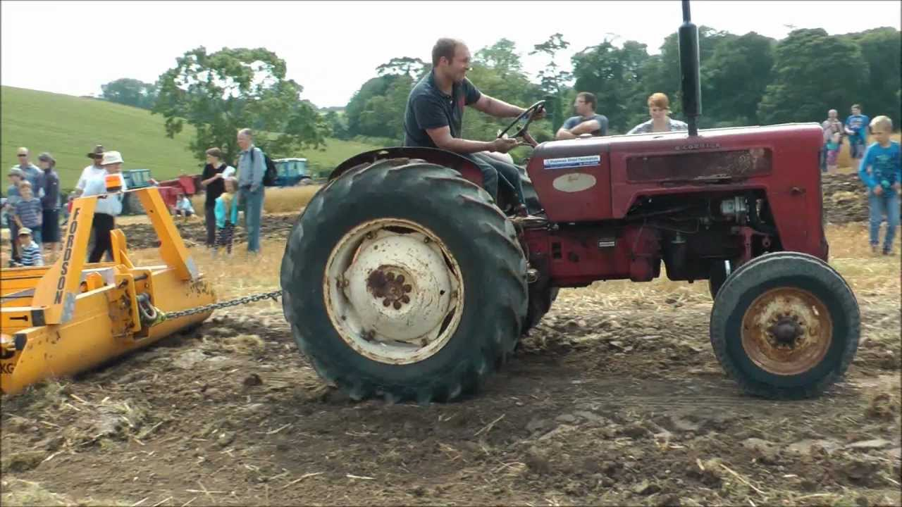 Vintage Mcormick Tractor Pulling Sled Youtube