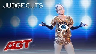 "Valerie Sassyfras Performs The ICONIC ""Girls Night Out"" Remix - America's Got Talent 2019"