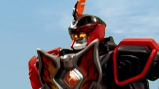Jungle Master Megazord First Fight (Power Rangers Jungle Fury) - Debut