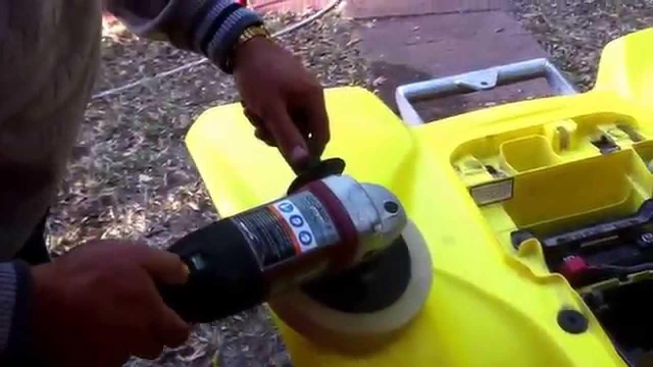 How To Polish Restore Plastics On ATV Four Wheeler And