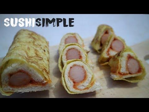 Resep Makanan Lagi Hits Sushi Roti Tawar Paling Mudah