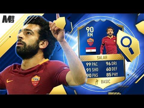 FIFA 17 TOTS SALAH REVIEW | 90 TOTS SALAH PLAYER REVIEW | FIFA 17 ULTIMATE TEAM
