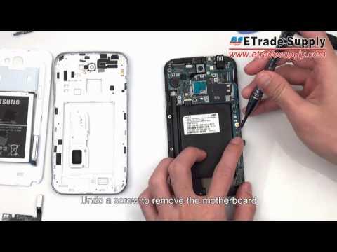 Samsung Galaxy Note 2 disassembly/take apart/tear down tutorials