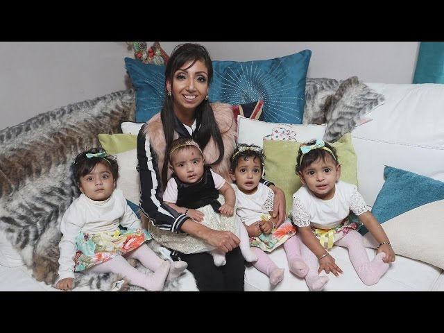 Woman Told She Couldn't Give Birth Becomes Mom To 4 Kids In 9 Months
