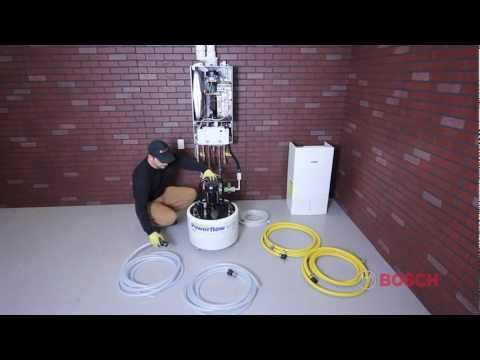 Bosch Greenstar Boiler Installation Video