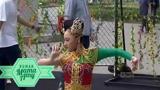 Belajar Jaipong, Hiphop Bareng Raffi, Gigi , Sandrina Azahra - Rumah Mama Amy (4/1)