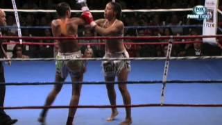 Miriam Nakamoto vs Julie Kitchen Pala Casino WCK Muay Thai | Thai Boxing Institute 310-596-5034