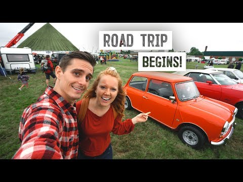 European Road Trip BEGINS! - Vintage Car / Airplane Festival (Brussels to Diest, Belgium)