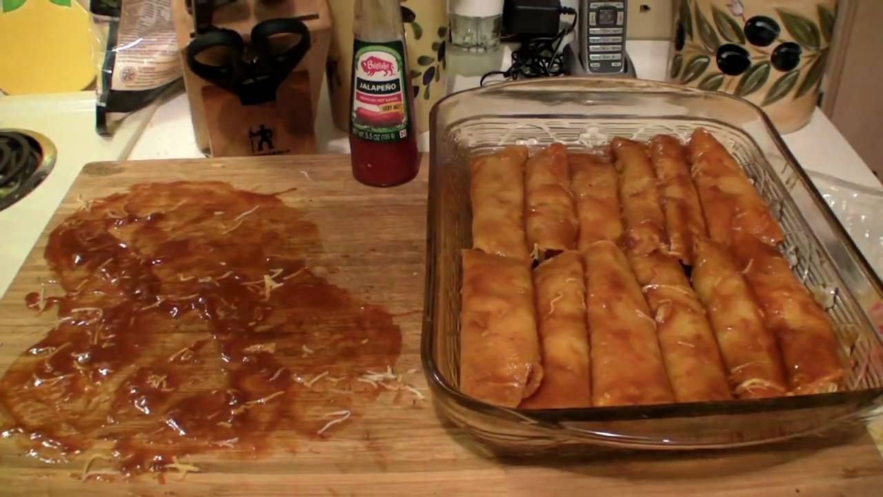 Tex Mex Cheese Enchiladas - YouTube