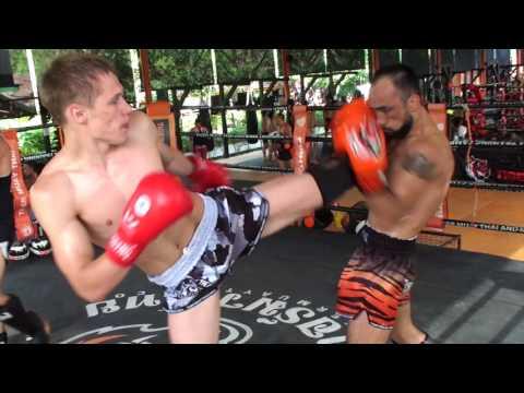 Muay Thai Fight Team Sparring 22/7/17